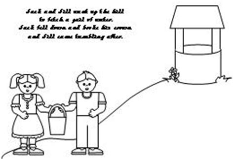 preschool coloring pages jack and jill jack and jill coloring pages 171 free coloring pages