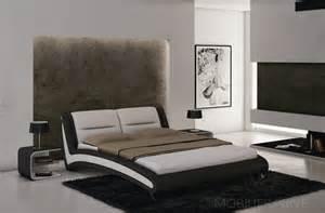 lit en cuir de luxe mobilier priv 233