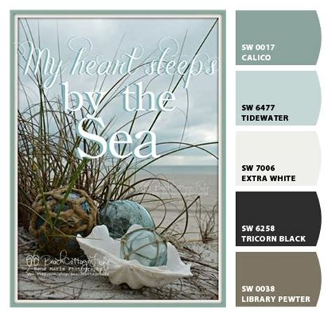 coastal color pallet quot chip it sherwin williams quot