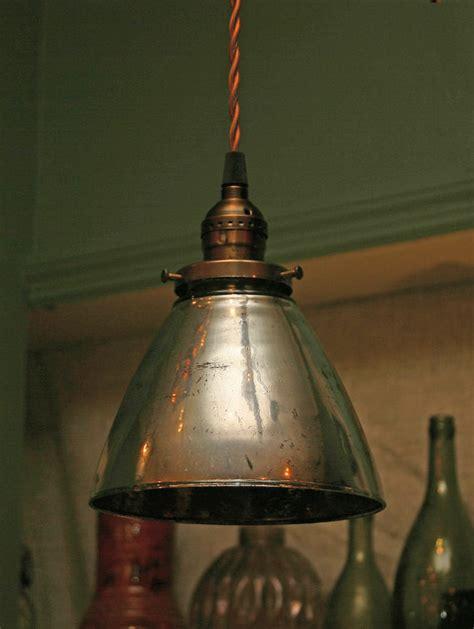 Custom Pendant Lights Custom Pendant Light With Blown Mercury Glass By Twoifbyseagallery