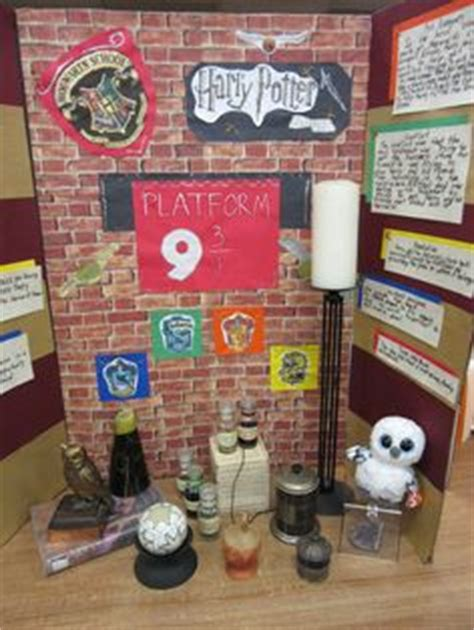Book Report Ideas For Harry Potter by Harry Potter Book Fair Project School Projects Fair Projects Projects And Harry