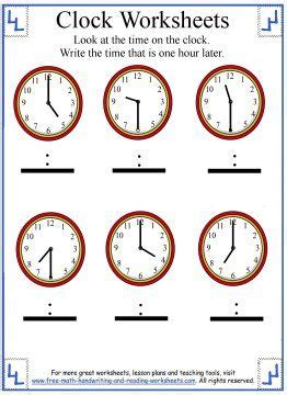 Pdf Ca Time Hours by Telling Time Worksheet These Pdf Clock Worksheets