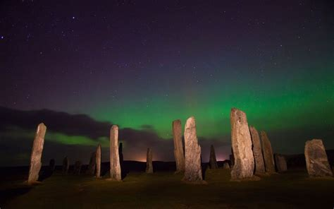 best place in scotland to see the northern lights scotland best places to see the northern lights travel