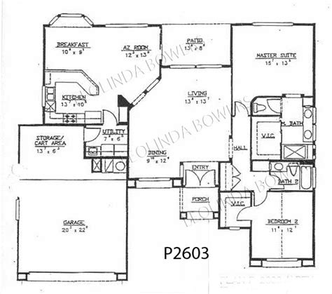 Sun City West Az Floor Plans | sun city west safford floor plan
