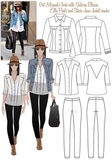 pattern review style arc elle pant miranda s look no 1 pdf style arc