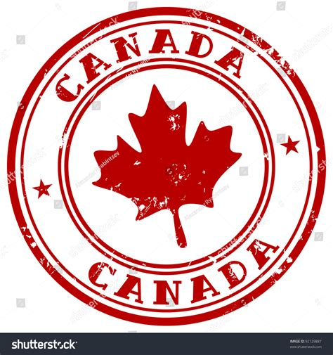Call Lookup Canada St With Name Of Canada 스톡 벡터 일러스트레이션 92129887