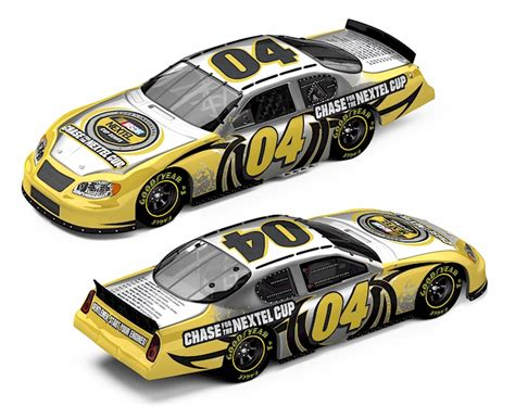 Special Diecast Nascar Chevy Rock N Roll Program Car 2004 Monte Carlo 2004 2005 nascar diecast 2004 2005 nascar diecast cars by