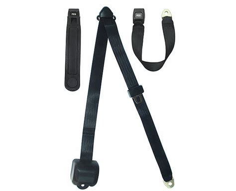 3 point seat belts hardtop and convertible 3 point retractable seat belt