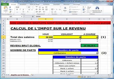 Grille Impot Revenu by Quelques Liens Utiles