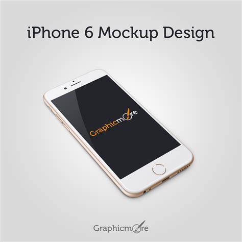Mockup Design Iphone | iphone 6 mockup design graphicmore download free graphics