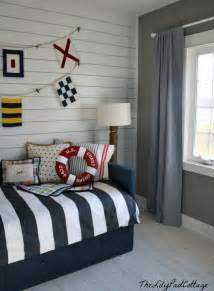 Nautical Themed Nursery - nautical big boy room reveal the lilypad cottage