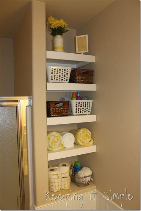 shelving ideas for small bathrooms diy shelves for a small bathroom diy buildit hometalk