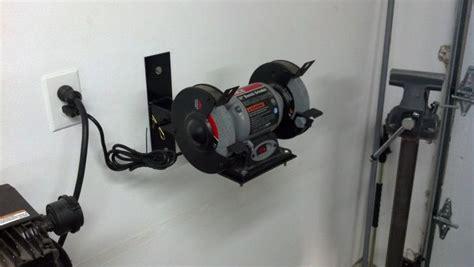 bench grinder wall mount bench grinder mount the garage journal board workshop