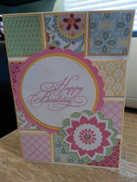 cricut card ideas ctmh chantilly cricut birthday card