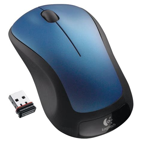 Mouse Wireless logitech m310 wireless mouse blue ebay