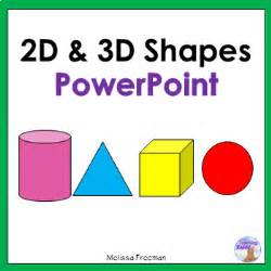 2d amp 3d shapes powerpoint by the teaching rabbit tpt