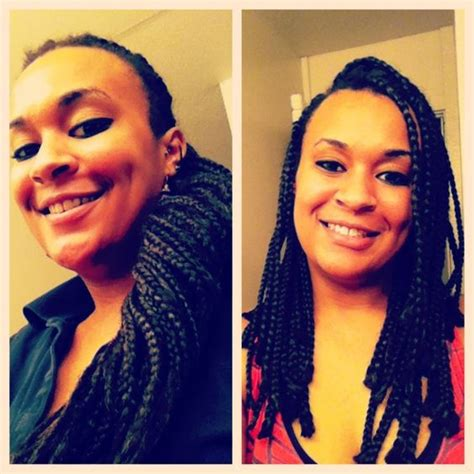 i cut my box braids and now the weave is comming loose this is after i cut my box braids before my big chop they
