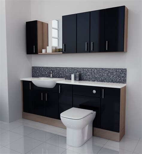 Bathroom Furniture Australia Black Gloss Bathroom Furniture With Model Exle In Australia Eyagci