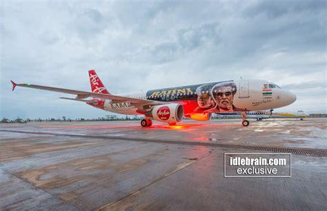 airasia flight promotion rajinikanth s kabali air asia flight promotion idlebrain