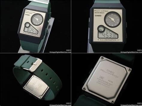 casio film watch malaysia vintage rare casio film watch fs 03 analogue digital lcd