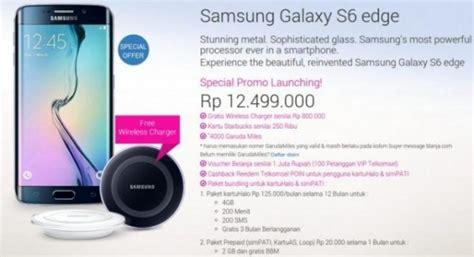 Harga Samsung S6 Edge Di Indonesia samsung galaxy s6 edge 64 gb pre order di tanah air harga