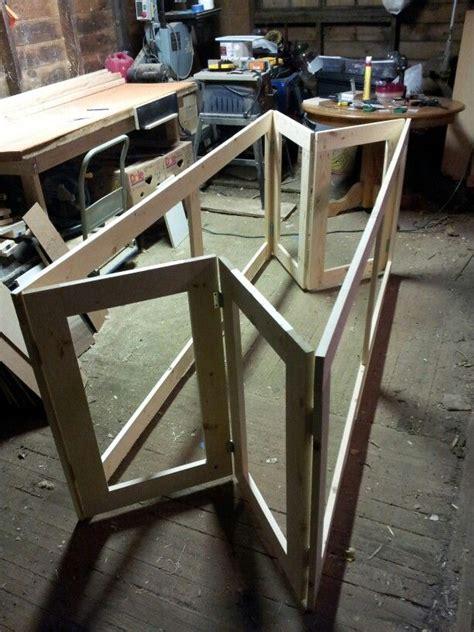 folding workbench base built    lumber