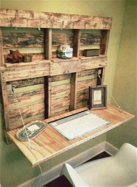 Desk Ideas Diy 5 Diy Easy Wooden Pallet Desk Ideas 99 Pallets