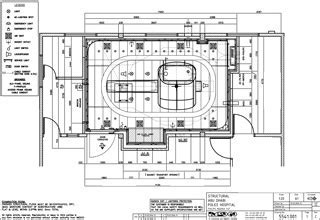 Structural drawings of the MR suite   IMEDCO of Switzerland
