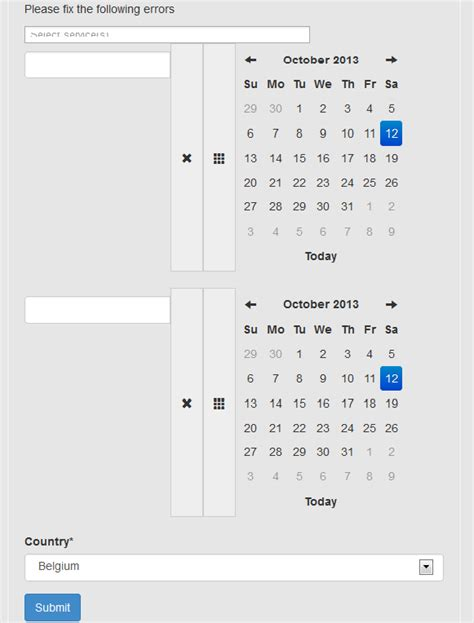 calendar layout stack overflow jquery layout messed up after upgrading from bootstrap 2