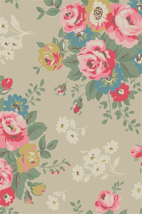 flower pattern lock print flowers iphone ipad wallpaper pinterest