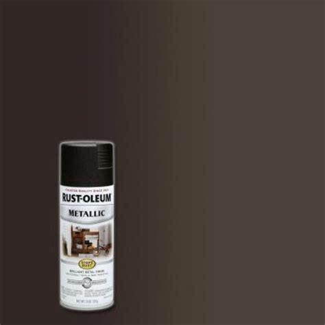 home depot spray paint bronze rust oleum stops rust 11 oz metallic rubbed bronze