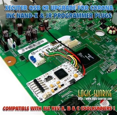 coolrunner rev c install xecuter coolrunner corona upgrade qsb lsstore