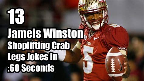 Jameis Winston Memes - 13 jameis winston shoplifting crab legs jokes in 60 seconds hahahahaha pinterest crab legs