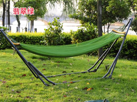 indoor hammock bed with stand outdoor bed canvas hammock swing net thickened hanging bed