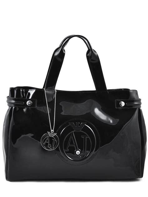 Tas Giorgio Armani 8112 2 Black sac armani black vernice lucida 5291 55