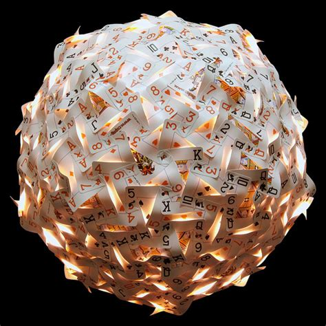 Handmade Chandeliers Lighting Geodesic Spheres Made From Recycled Materials By Nick
