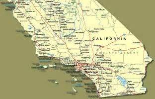 map of southern california towns show me southern california
