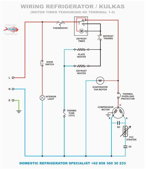 wiring diagram lg door refrigerator circuit