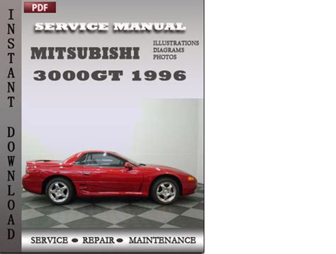 online car repair manuals free 1996 mitsubishi 3000gt seat position control mitsubishi 3000gt 1996 service repair manual download manuals am