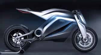 audi shows cool motorcycle concept autoevolution