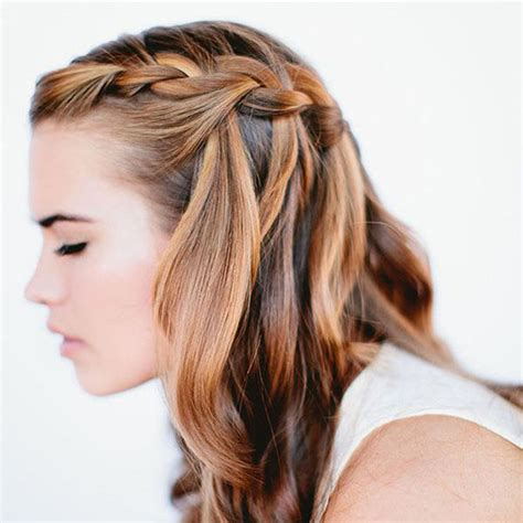 cute girls hairstyles for your crush comment faire une tresse cascade