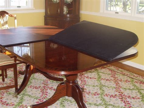 dining room brown room table pads in rectangular shape