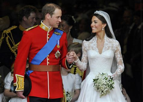 will and kate wills kate on their wedding day prince william and