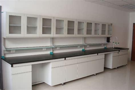 Meja Belajar Di Bekasi jual meja pinggir laboratorium wall bench murah di bekasi 0813 2588 9734 waste water