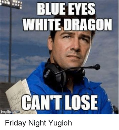 Blue Meme - blue eyes white dragon meme