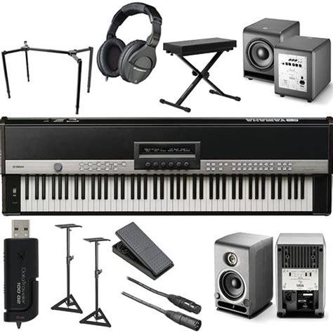 Keyboard Yamaha Cp1 yamaha cp1 88 key stage piano complete bundle kit b h photo