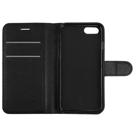 Wallet Card Iphone leather wallet card holder apple iphone 8 7 black