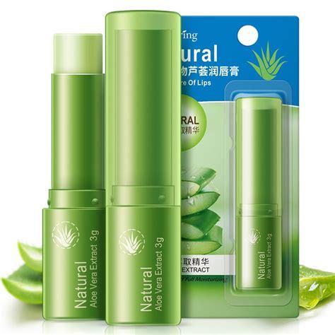 Aloe Vera Lipstick Moisturizing Lipbalm Berkualitas popular lip balm brand buy cheap lip balm brand lots from