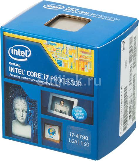 Intel Prosesor I7 4790 Box Lga 1150 intel i7 4790 22 000