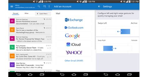 outlook for android review microsoft outlook for android out of preview slashgear